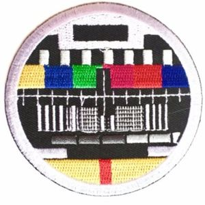 Accessories - Patch, Retro, Iron On Patches, TV Bars, DIY